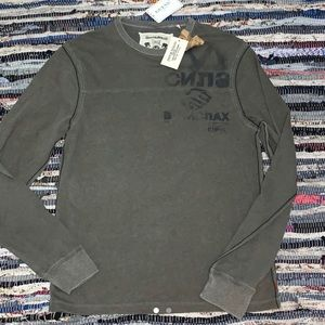 Guess vintage army green long sleeve